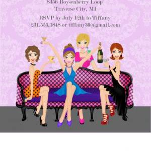 girls-night-out-party-invitation
