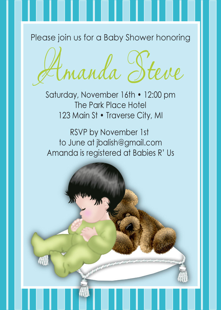 graphic about Free Printable African American Baby Shower Invitations identify Pillow Boy Kid Shower Invites - Electronic History Special Kid Shower Invitation As well - African American Do it yourself Printable Card
