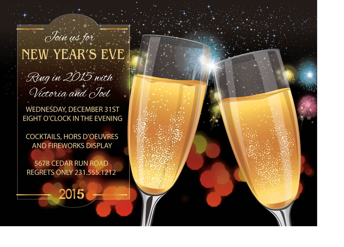 toast new years eve invitations new year invitation new years party invitation